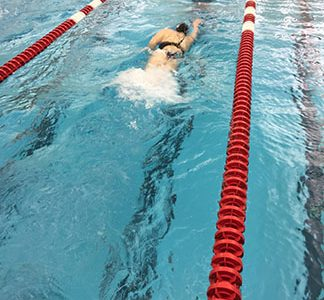 Girls' swimming and diving sectionals and state