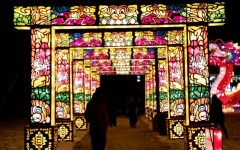 Lanterns at the state fairgrounds: Photo gallery
