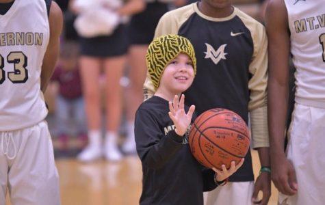 MVHS boy's basketball team helps cancer survivor