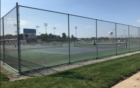 Boys tennis starts off the season