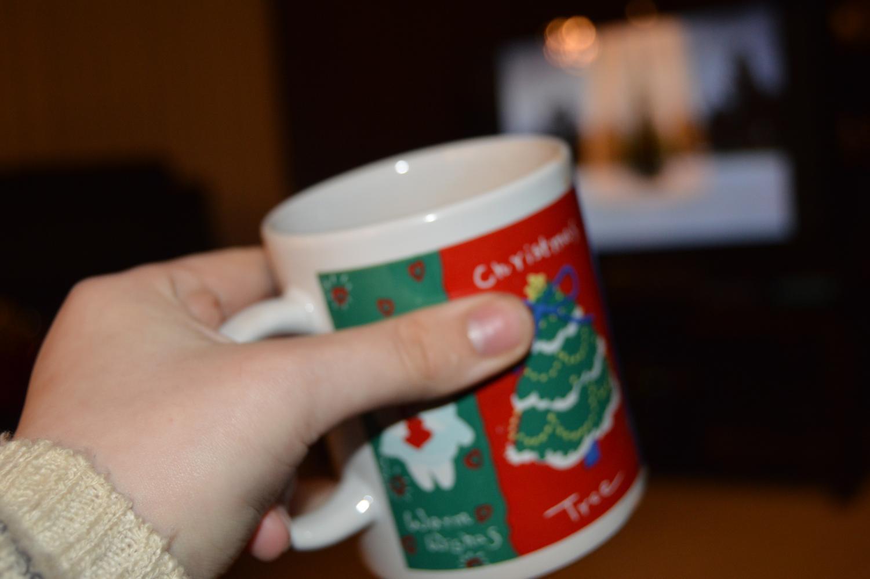 Christmas-themed mug