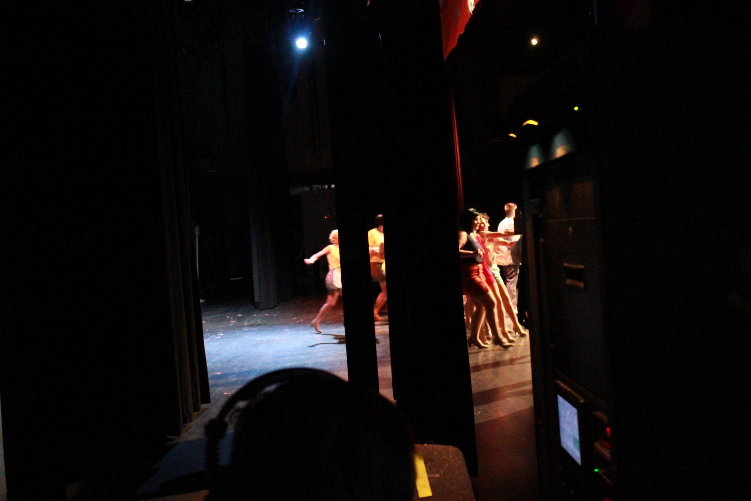 Backstage at Mt. Vernon Theatre's
