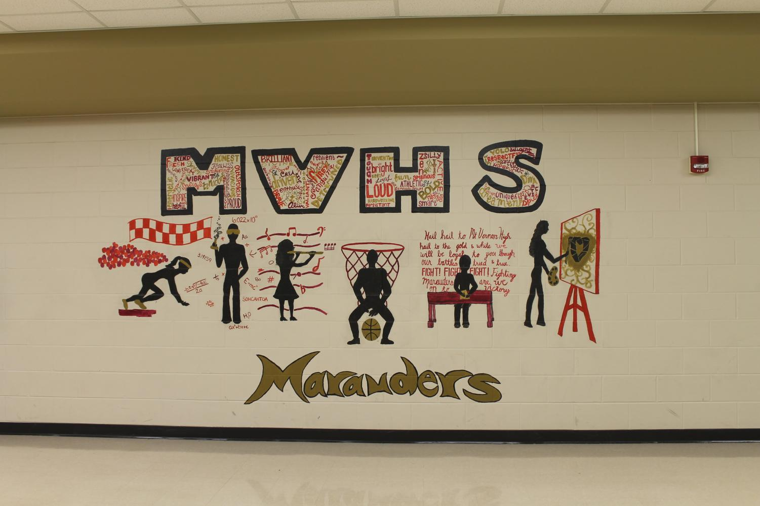 Mural showcasing what MV has to offer