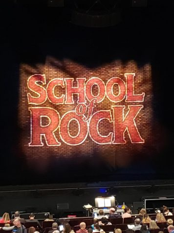 "The musical: ""School of Rock"""