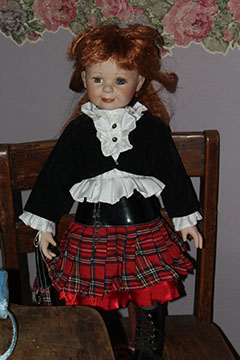 This doll is known to move by herself or fall onto the floor.