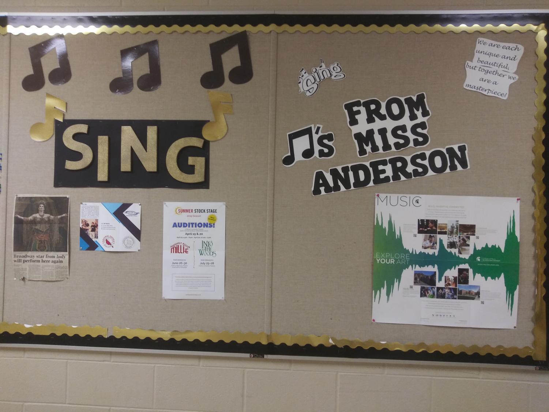 Choir+information+board