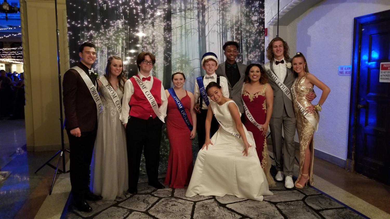 Prom court 2019