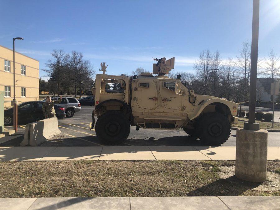 MATV in the parking lot