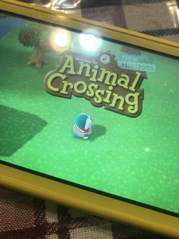 Animal Crossing opening screen