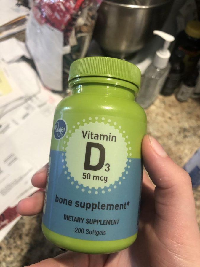 Taking vitamins can help keep you healthy