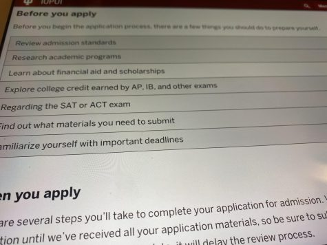 Things to know before applying to big schools.