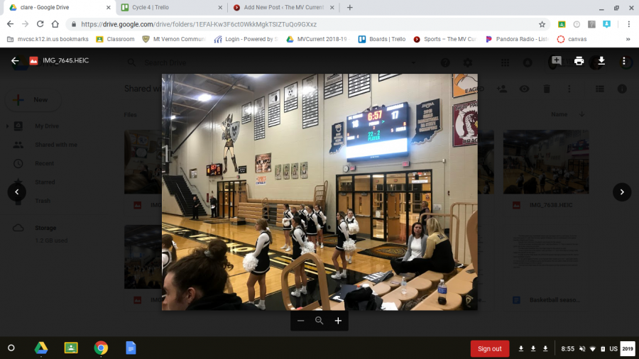 Basketball Cheer – The MV Current
